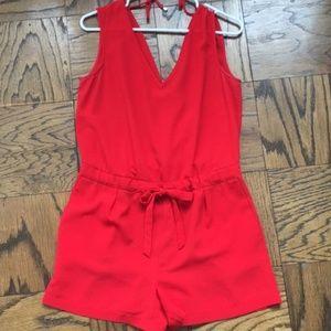 Red Zara Romper - Small